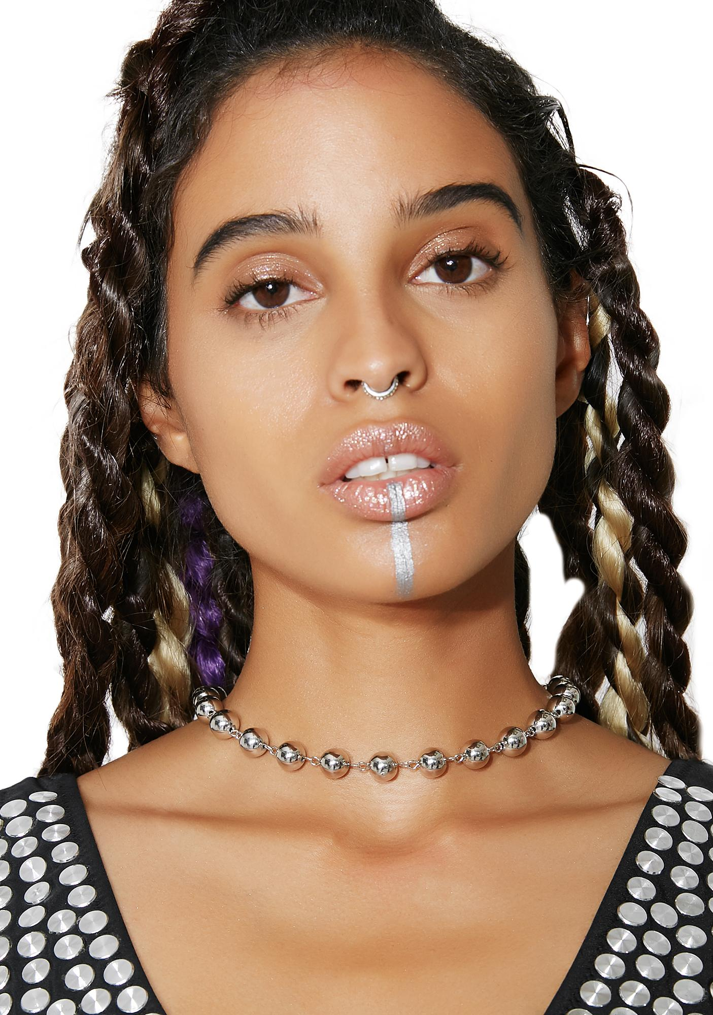 Hard Headed Ball Chain Choker