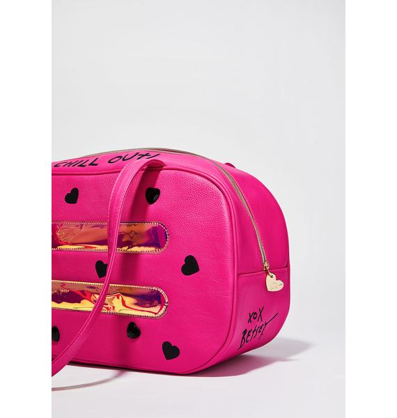 Betsey Johnson Watermelon Popsicle Cooler Bag