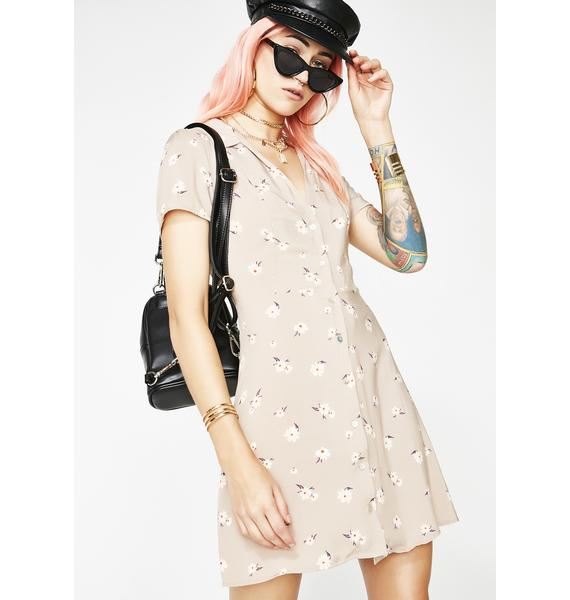Early Bloomer Floral Dress