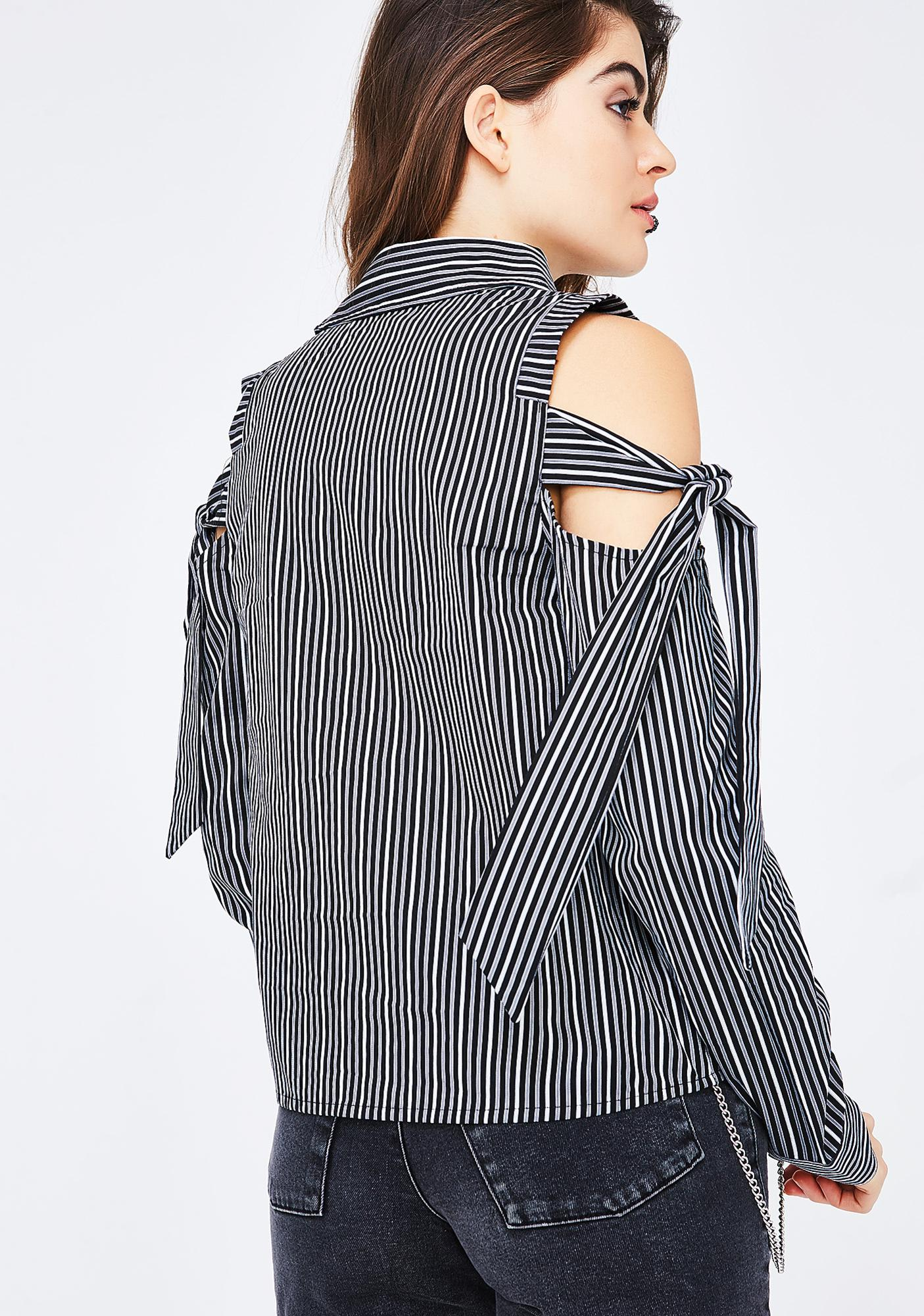 Strictly Business Stripe Top