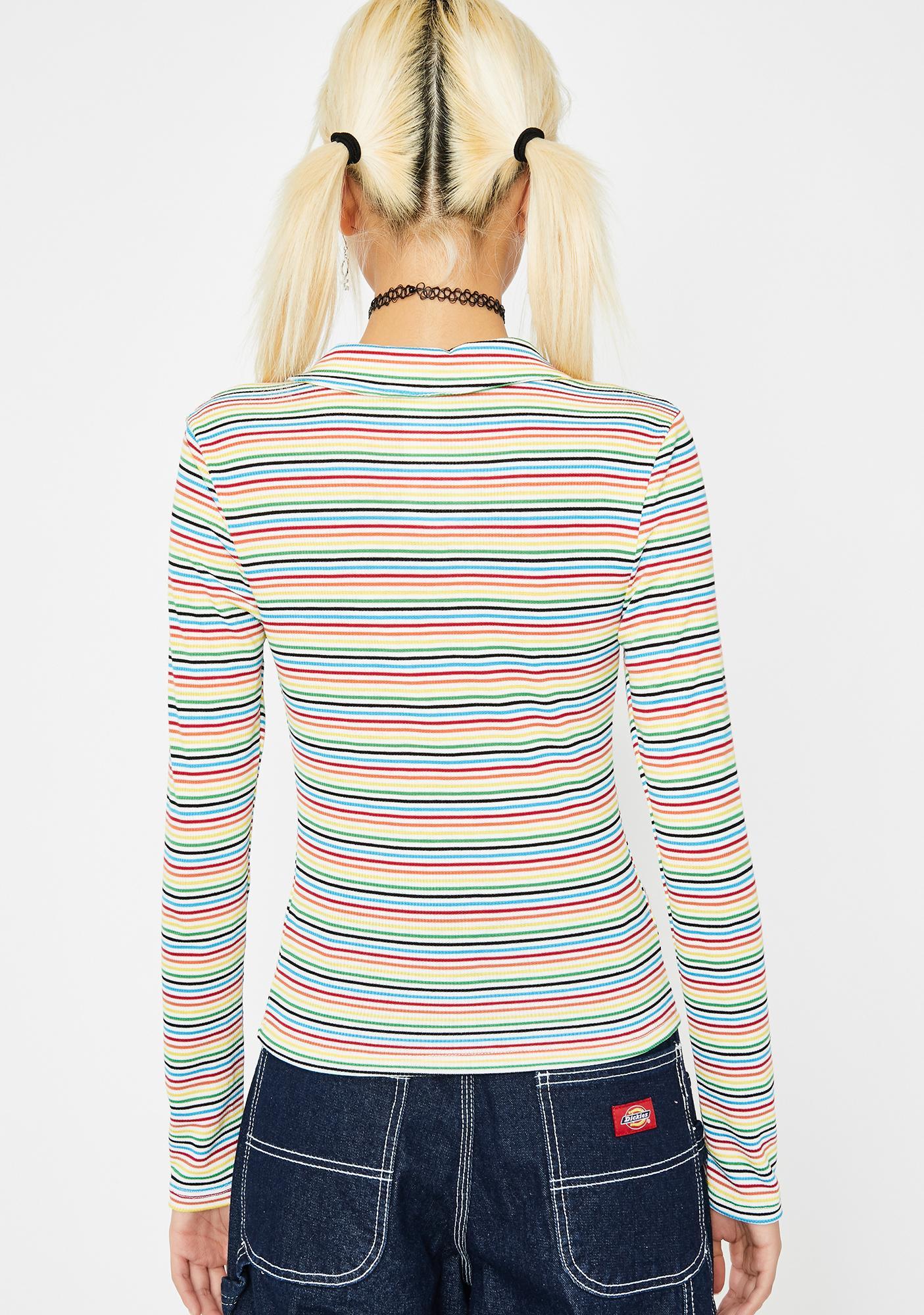 Spin Sugar Rainbow Top