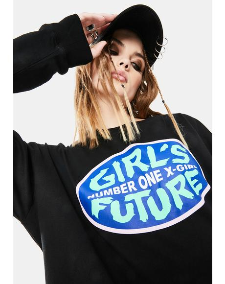 No. 1 Girl's Future Graphic Tee
