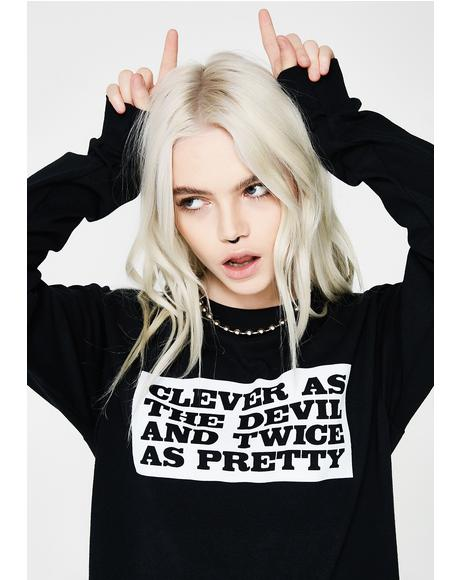 Clever Little Devil Tee