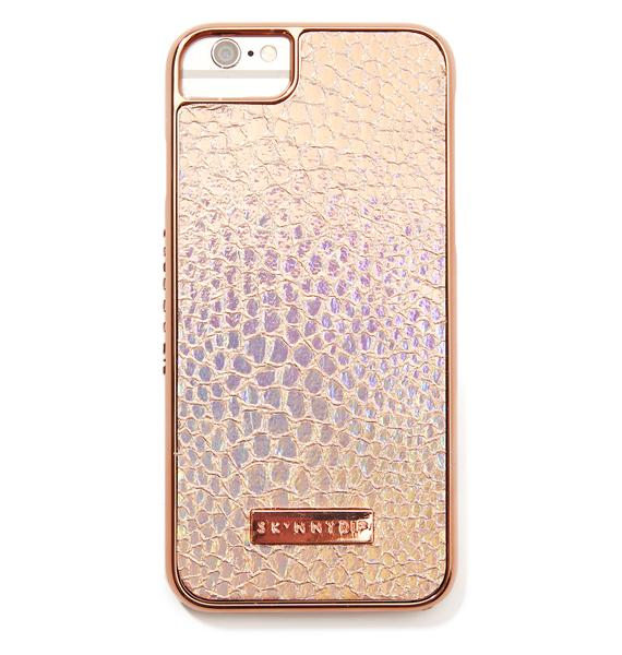 Skinnydip Rose Shimmer iPhone Case