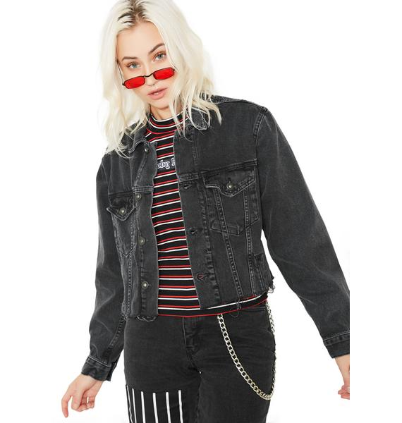 The Ragged Priest Revolve Denim Jacket