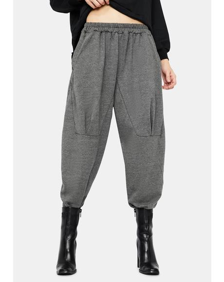 Up In Smoke Wide Leg Sweatpants