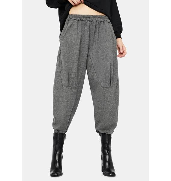 MNML Up In Smoke Wide Leg Sweatpants