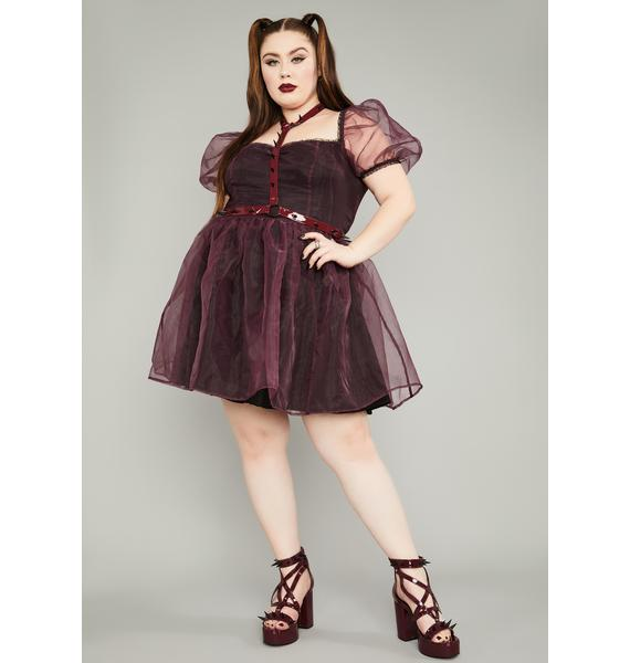 Widow Wine Eternal Hell On Earth Harness Dress
