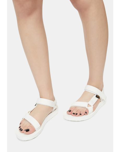 White Original Universal Sandals