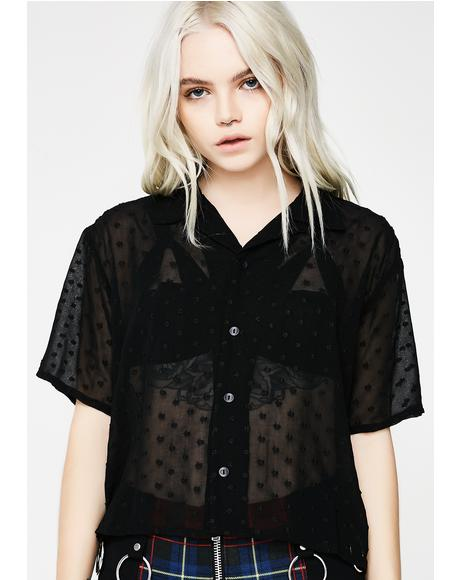 Cosmic Sheer Short Sleeve Shirt