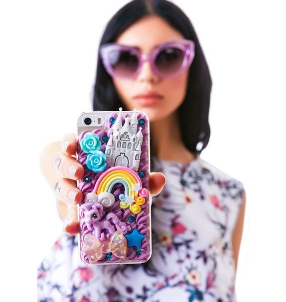 Rainbow Pony iPhone 5 Case