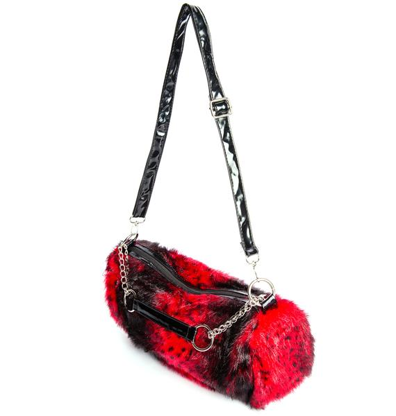 The Cliff Fur Chain Bag