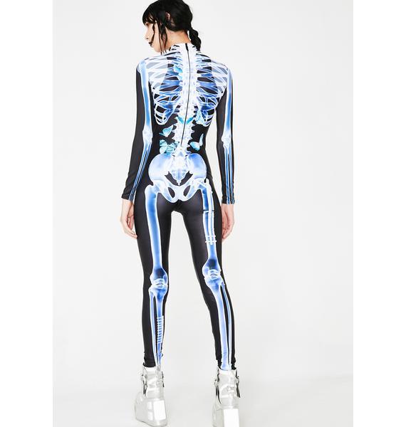 Badinka X-Ray Skeleton Costume