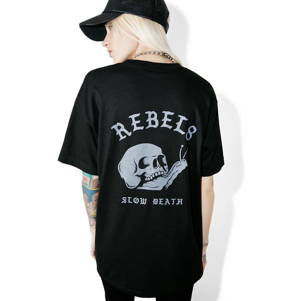 Rebel8 Slow Death Tee