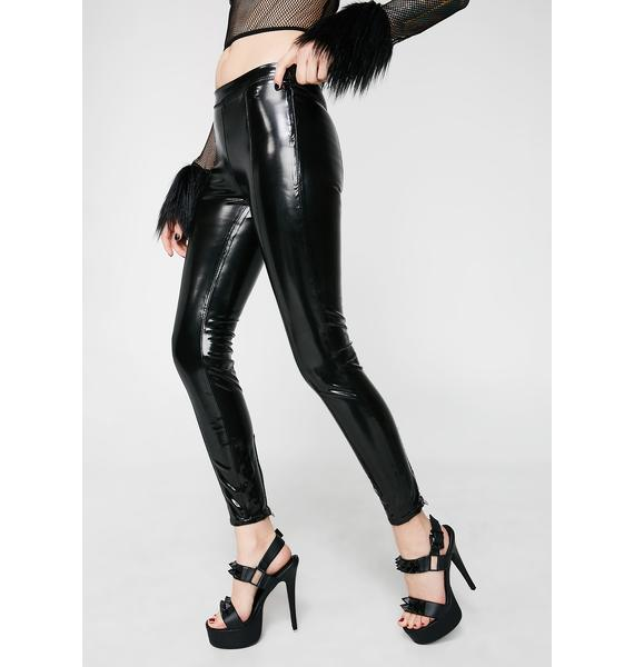 Blank NYC Zipper Smoke And Mirrors Pants