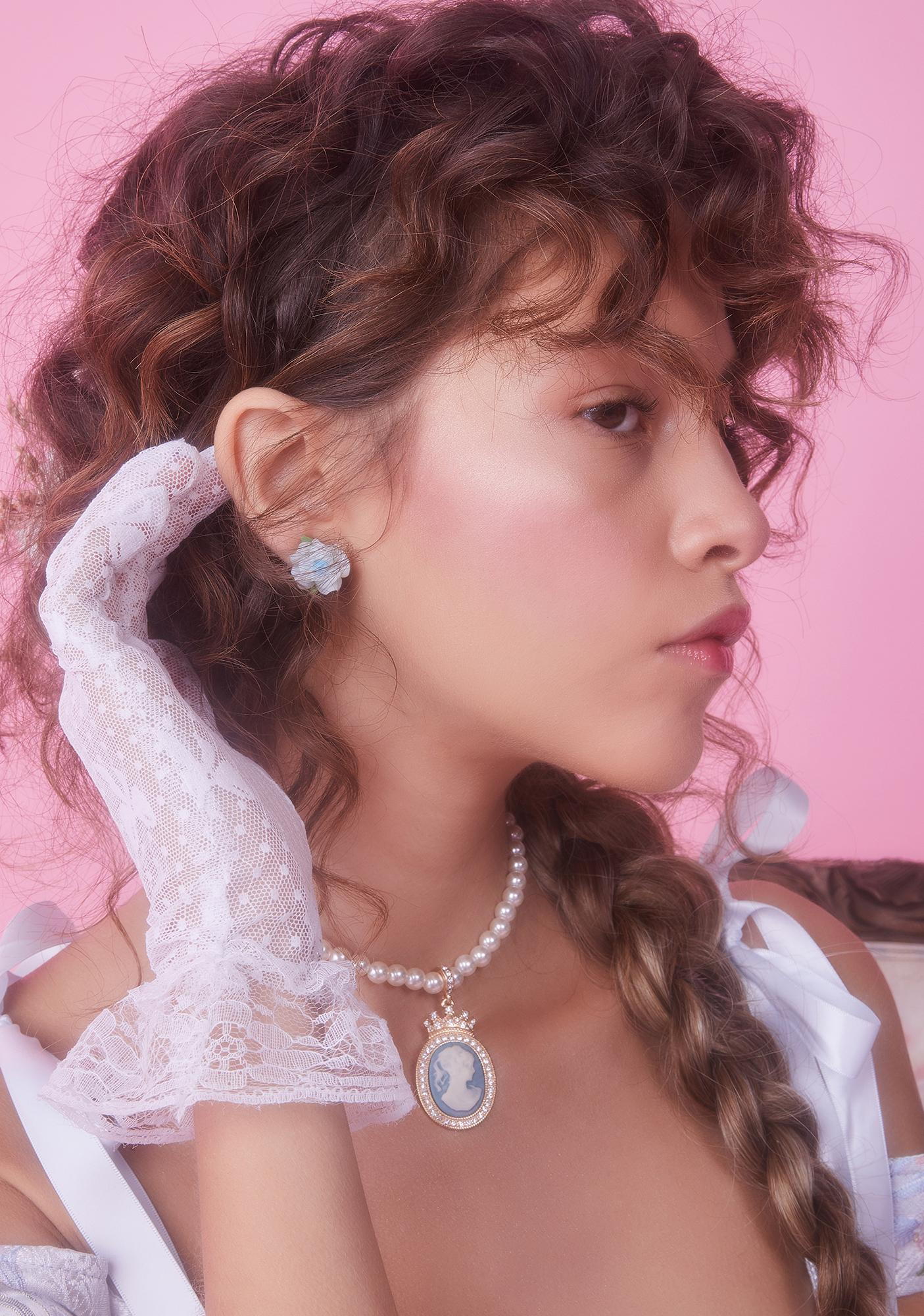 Just As Sweet Pastel Rose Stud Earring Set