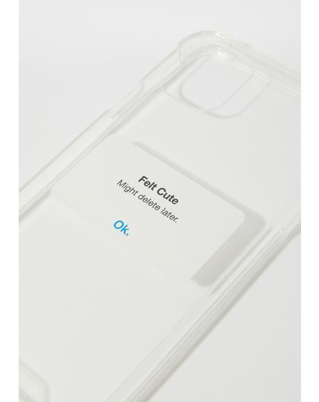 Feeling Myself IPhone Case