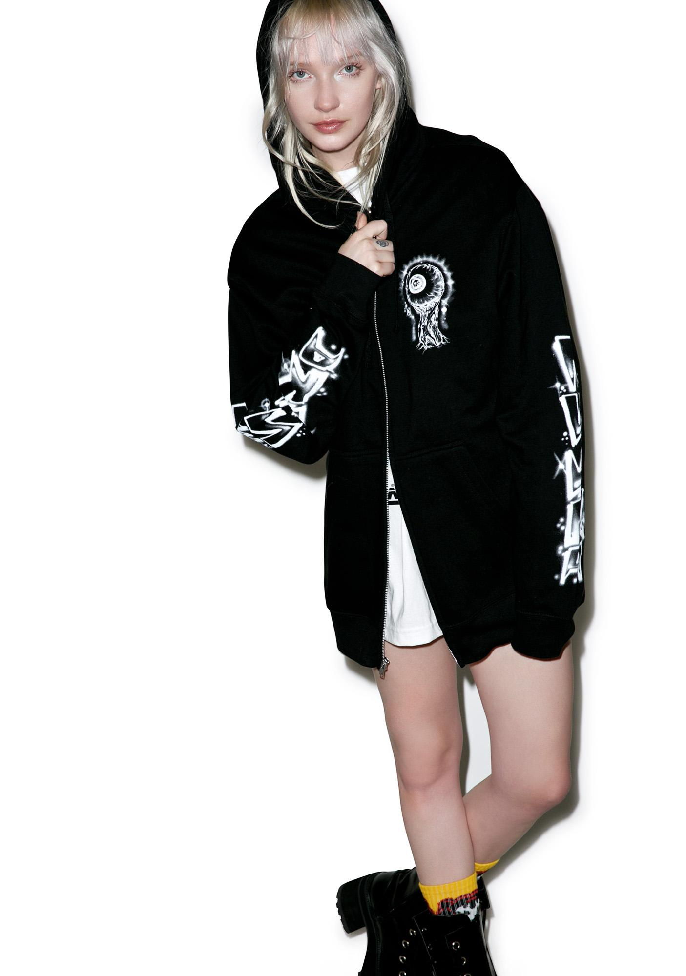 Mishka Lamour Boardwalk Zip Up Hoodie