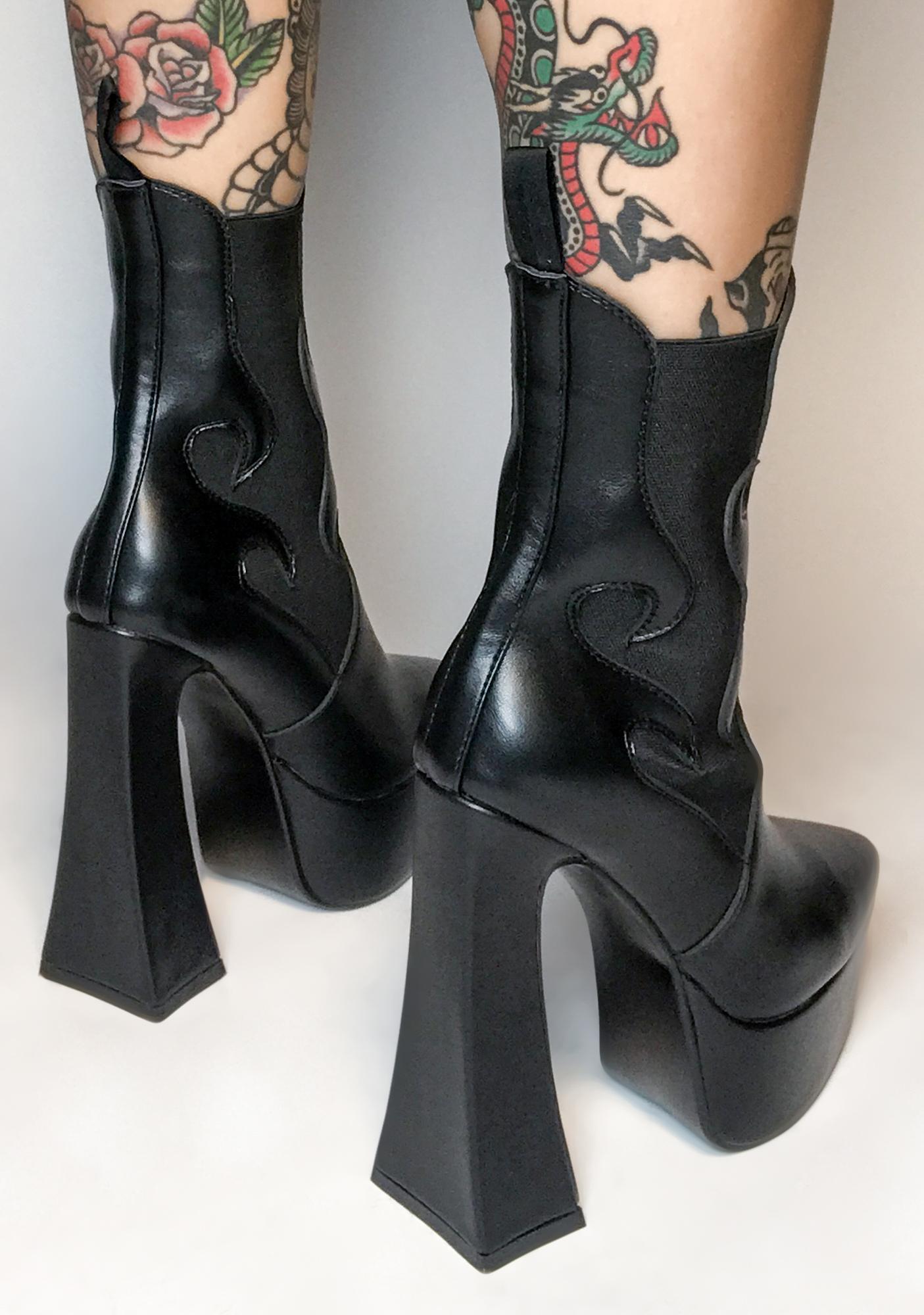 Lamoda Set Me Off Heeled Boots