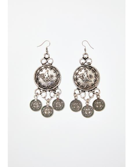 Hush Money Earrings