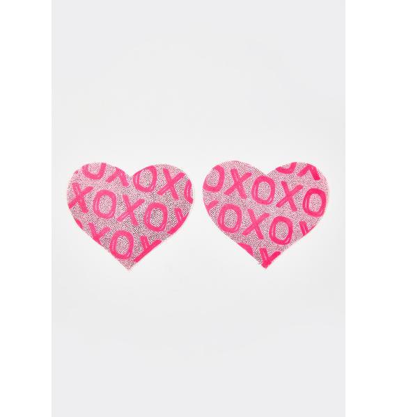 Pastease XOXO Heart Pasties