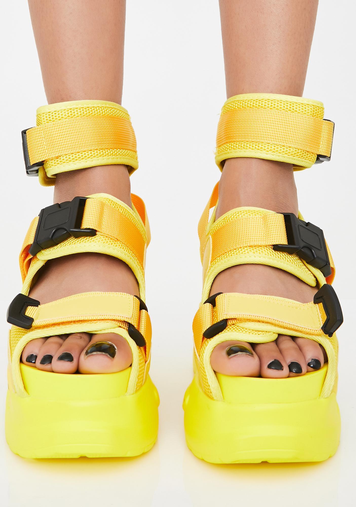Anthony Wang Sunny Daily Hustle Platform Sandals