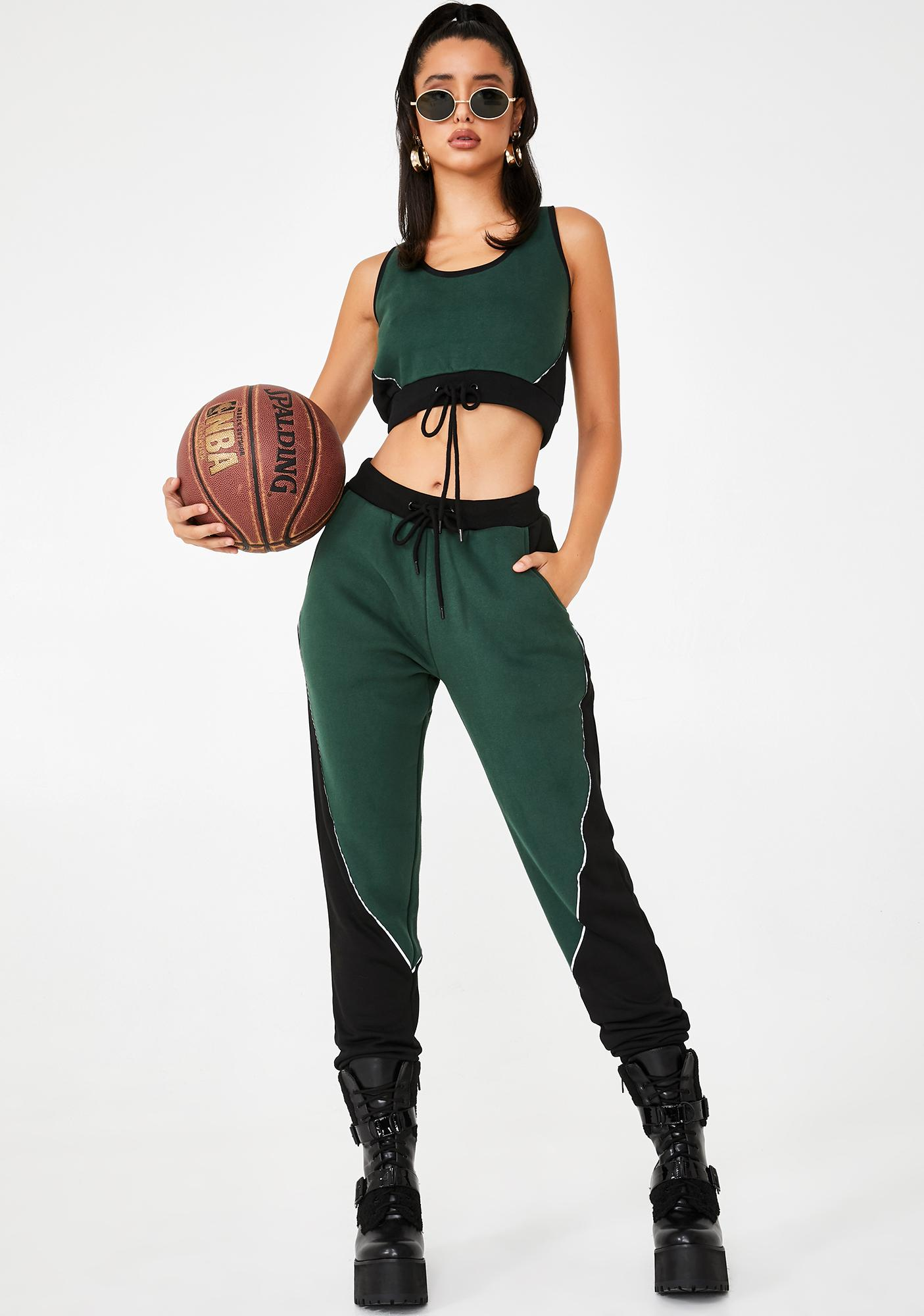 Poster Grl Make The Team Reflective Joggers