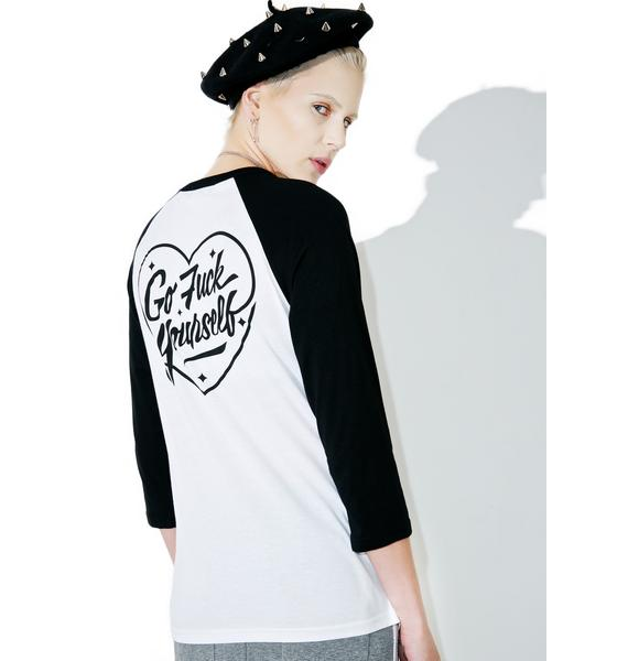 Rebel8 Love Lost Raglan