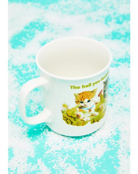 Quit Staring Coffee Mug