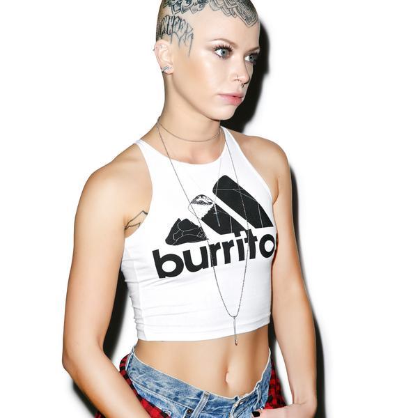 Danielle Guizio Burritos Crop Top