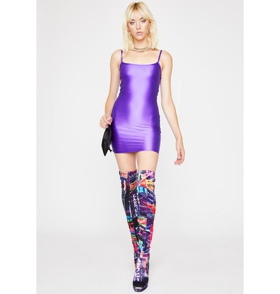 Purp Upgrade Ya Bodycon Dress