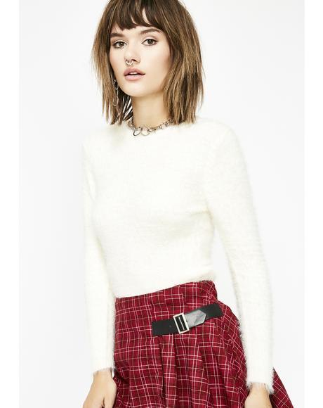Moody Judy Fuzzy Sweater