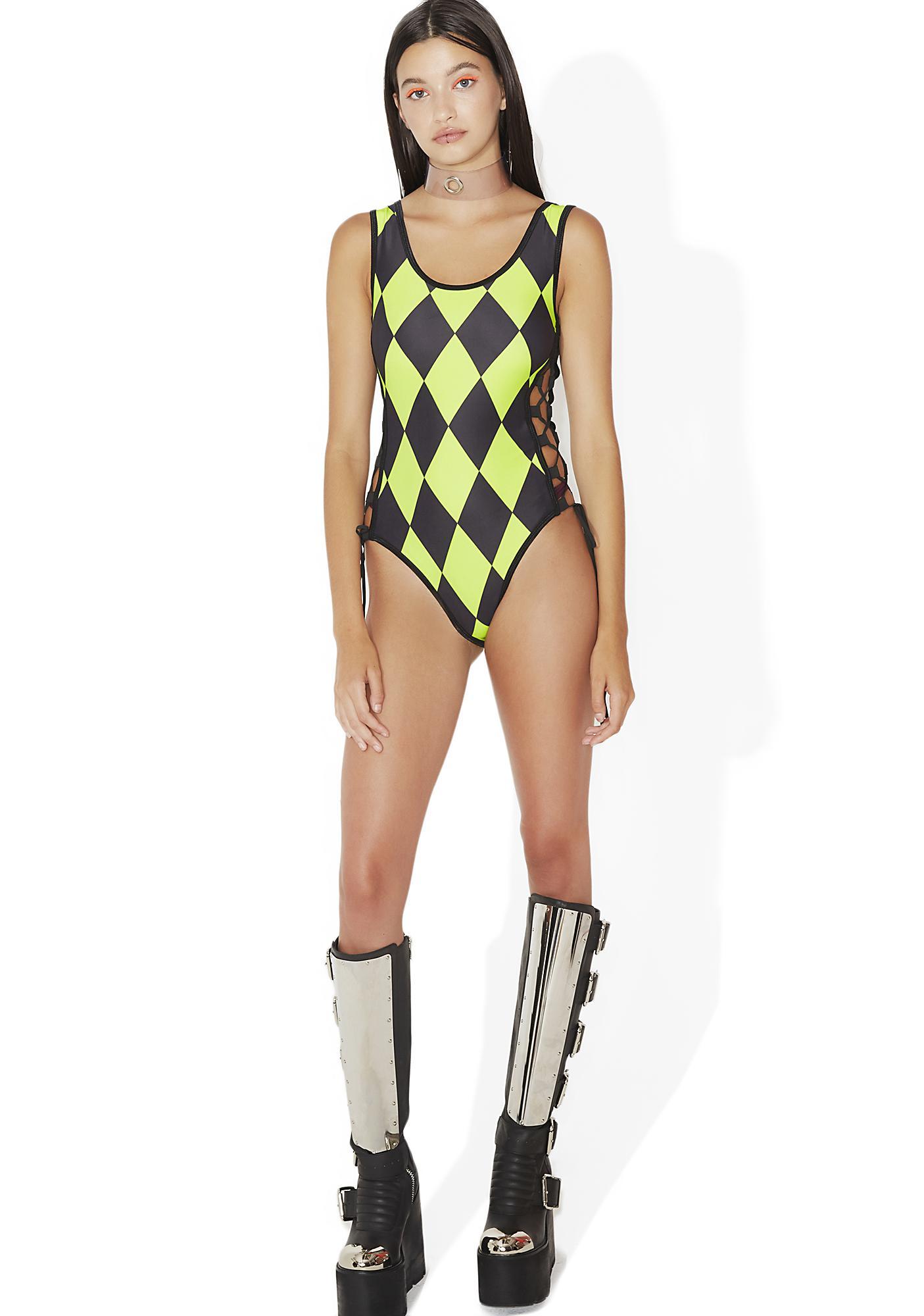 Indyanna Conny Lace-Up Bodysuit
