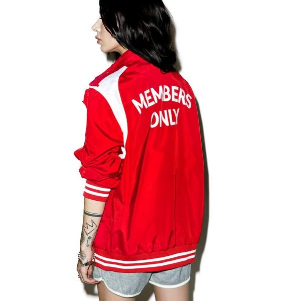 Members Only Iconic Racer Team Jacket