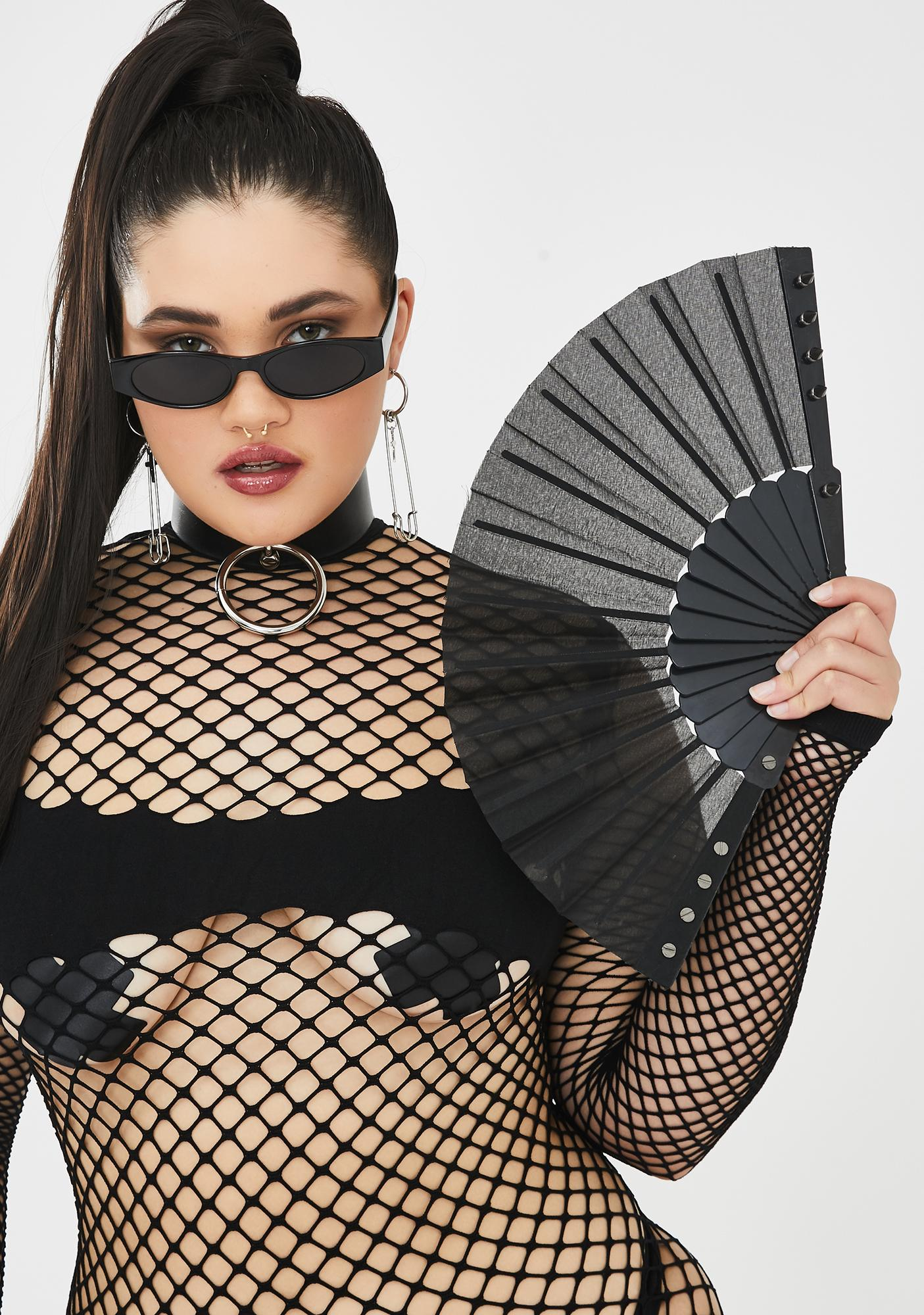 Shady Ho Studded Fan