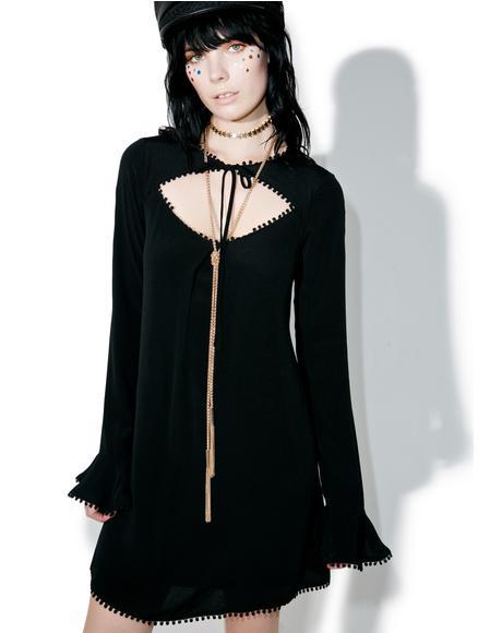 Dark Josephina Swing Dress