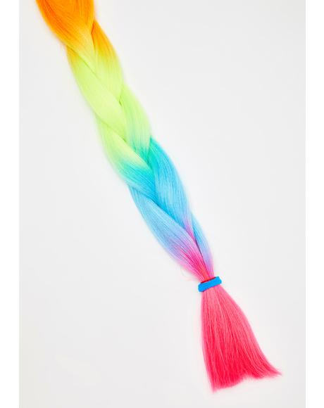 Make It Rain-Bow Hair Extensions