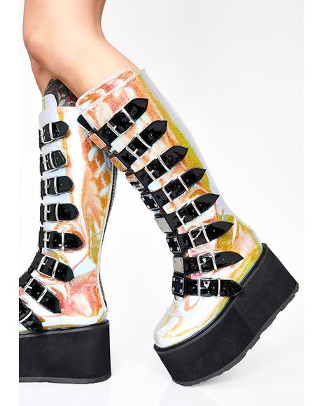 Acid Morpheus Platform Boots