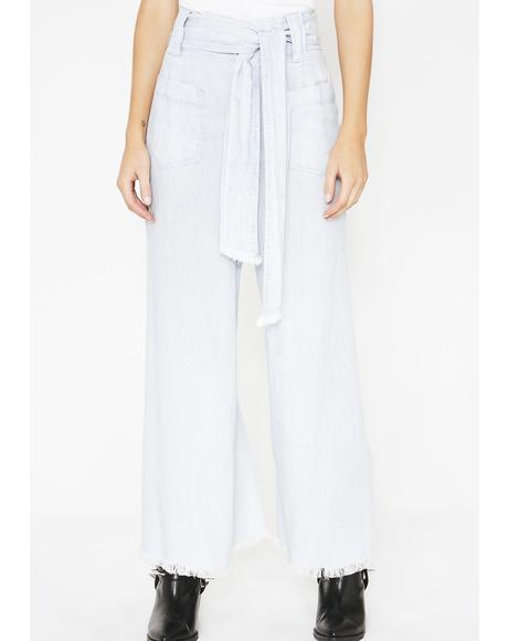 Shore Chambray Lasso Pants