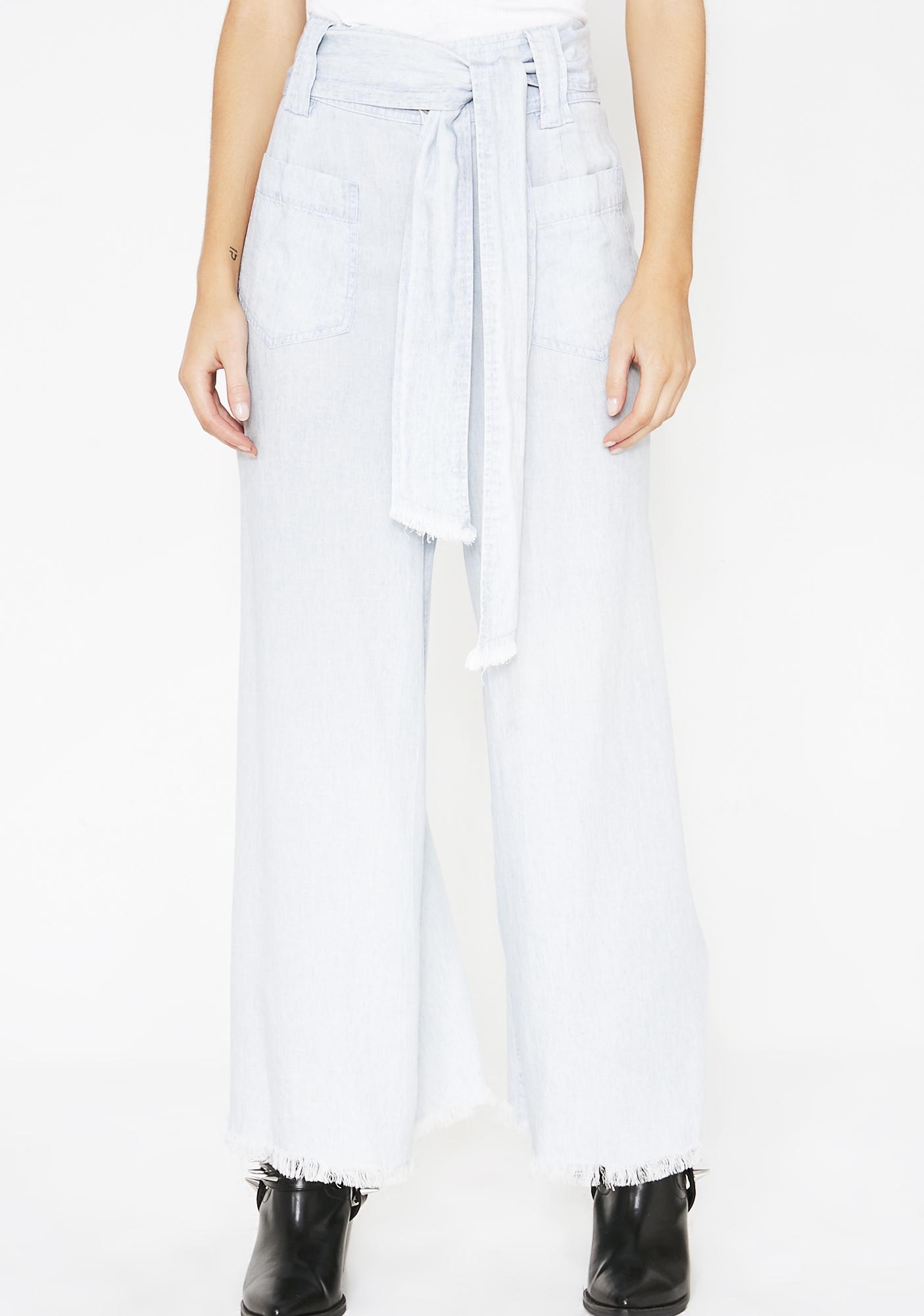 Show Me Your Mumu Shore Chambray Lasso Pants
