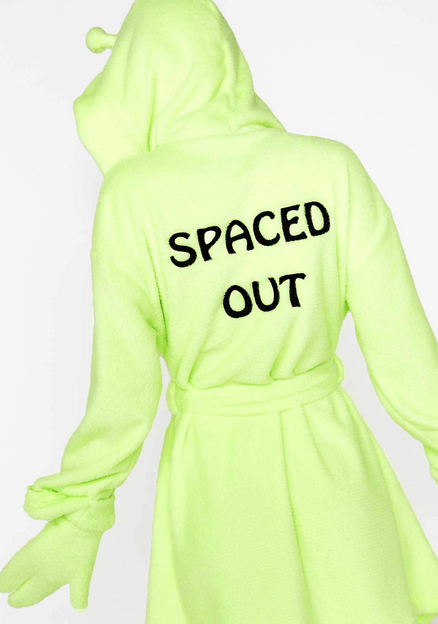 Current Mood Exxtratrestrial Alien Robe