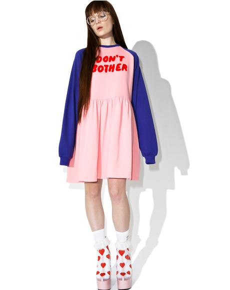 Don't Bother Sweater Dress