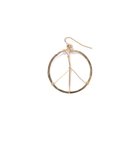 Inner Peace Hoops