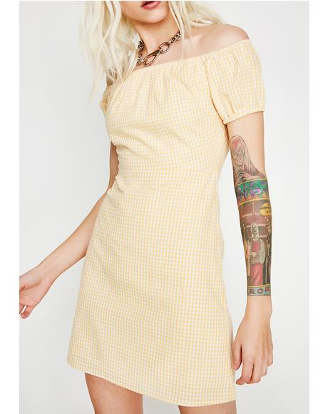 Sunny Hunny Gingham Dress