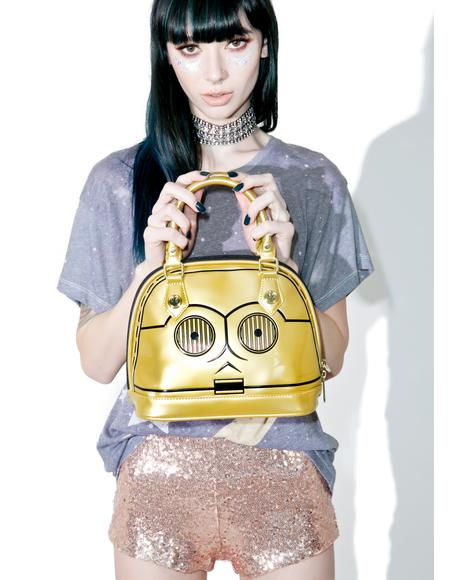 X Star Wars C-3PO Purse