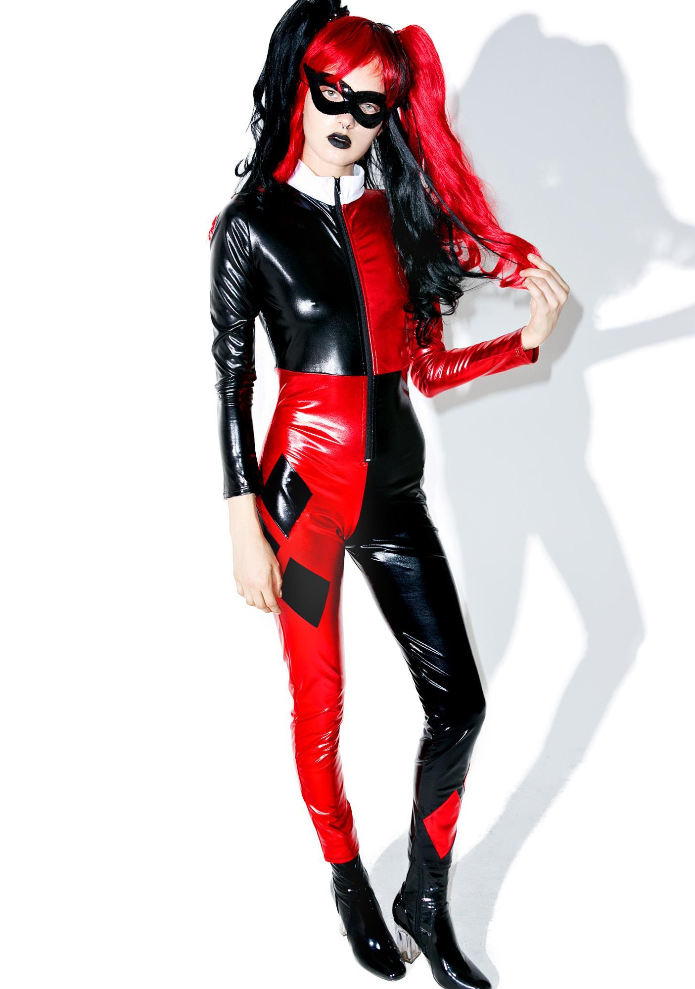 98c0d2b9acd Harley Quinn Jester Costume | Dolls Kill