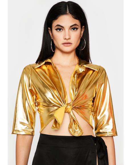 Goldie Like It Nasty Crop Top