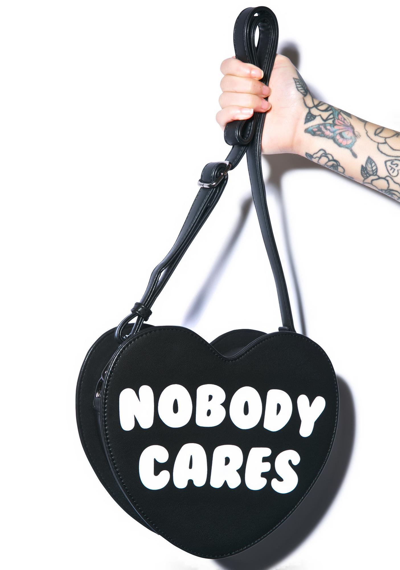 Killstar Nobody Cares Handbag