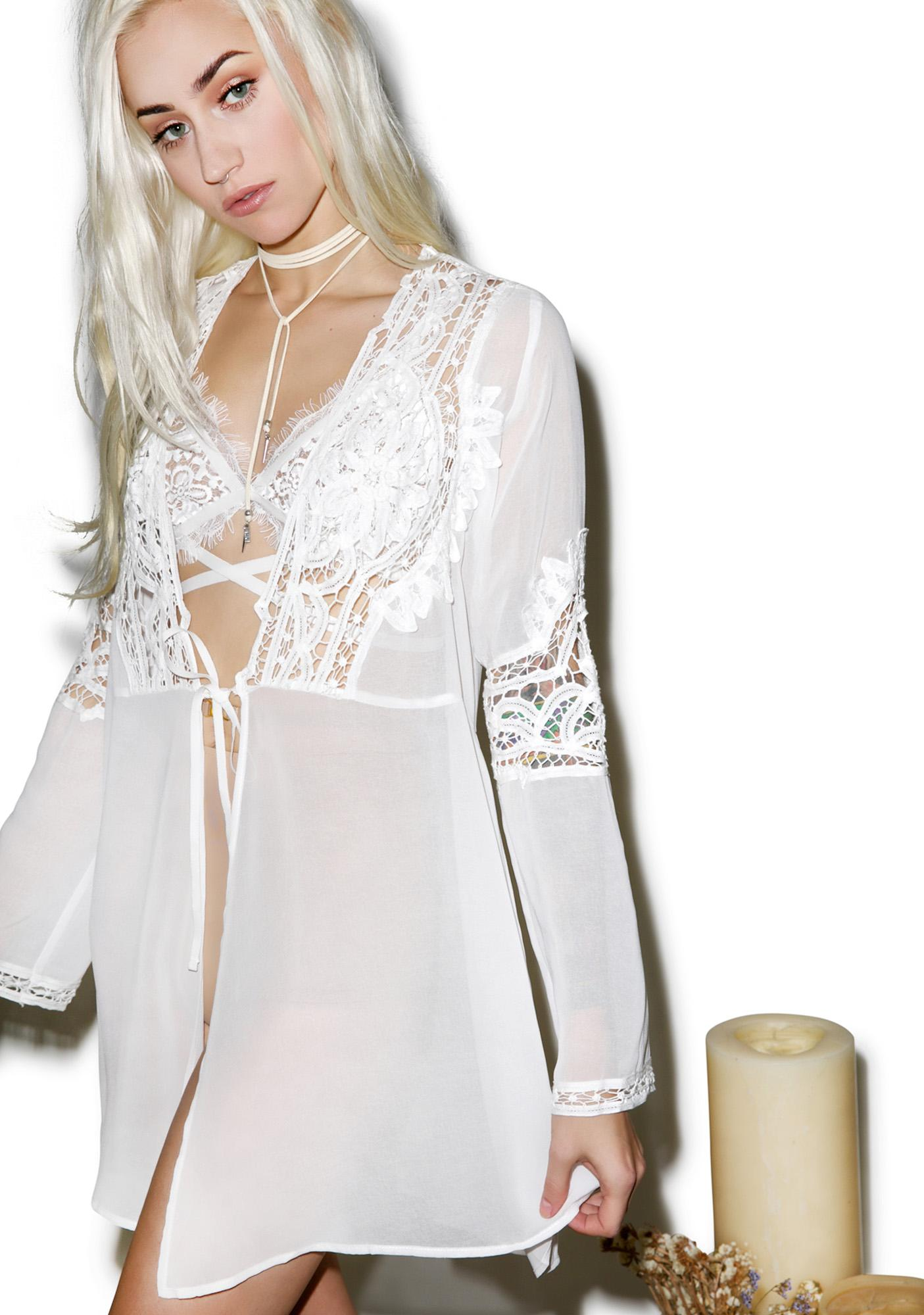 For Love & Lemons Annabella Robe
