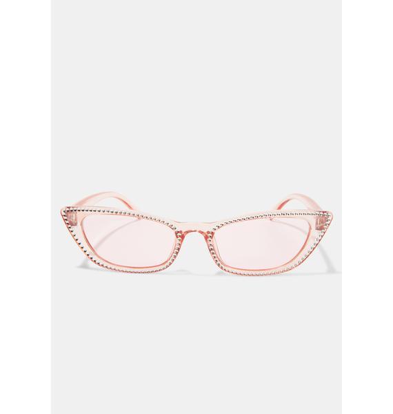 Sweet Freeze Frame Cat Eye Sunglasses